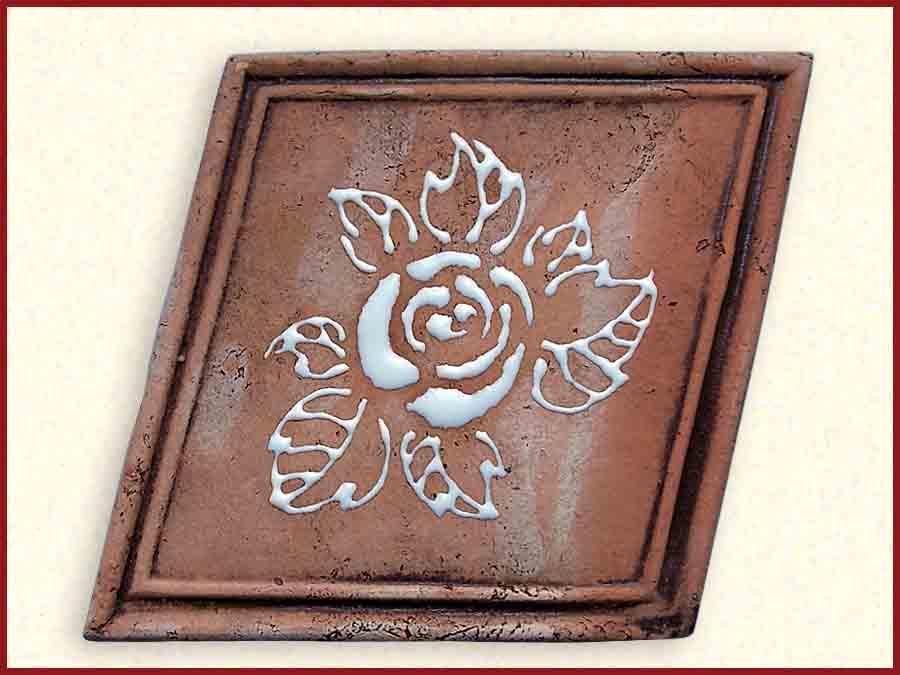 Керамическая плитка для печи или камина